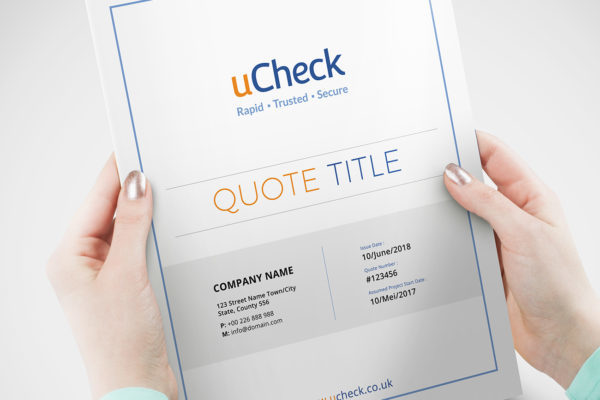 Quotation for Ucheck
